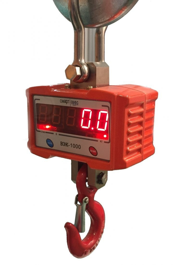 Крановые весы ВЭК-1000