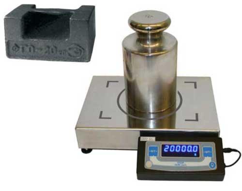 Лабораторные весы для поверки гирь 20 кг М1, СКО не более 100 мг