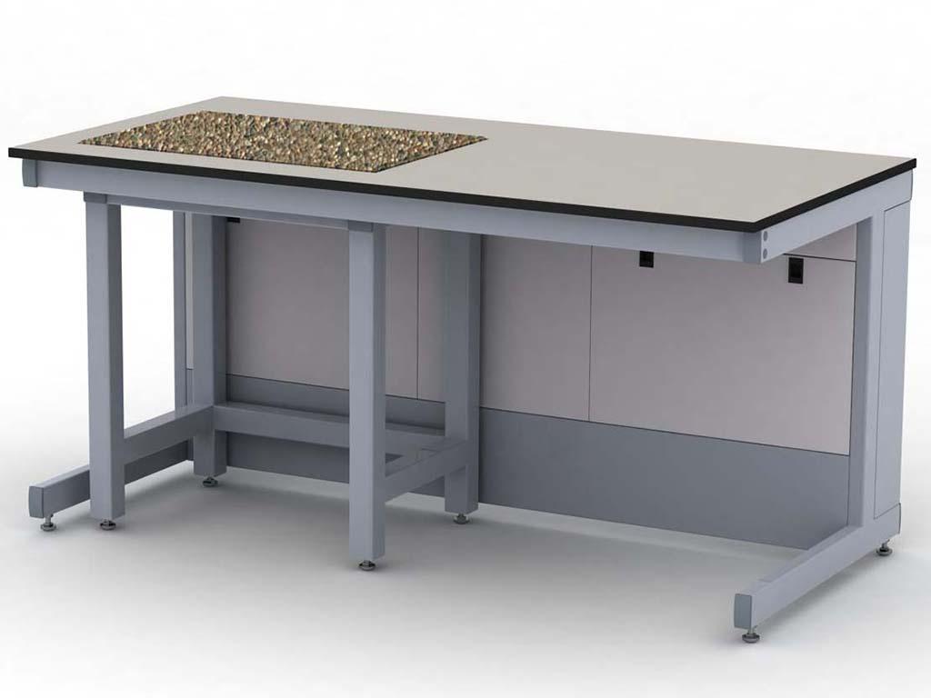Фото лабораторного весового антивибрационного стола «Эксперт»