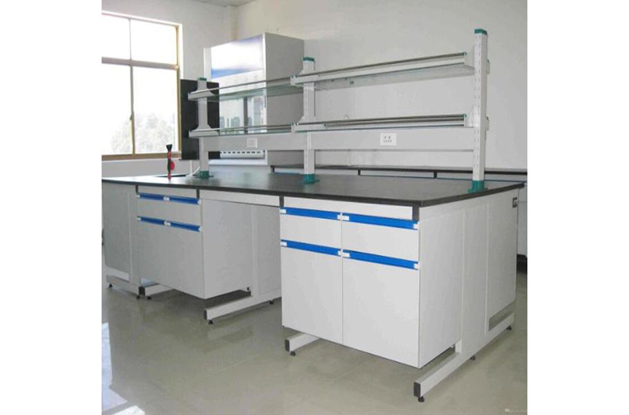 Фотография столов для лабораторий с поверхностью из нержавеющей стали
